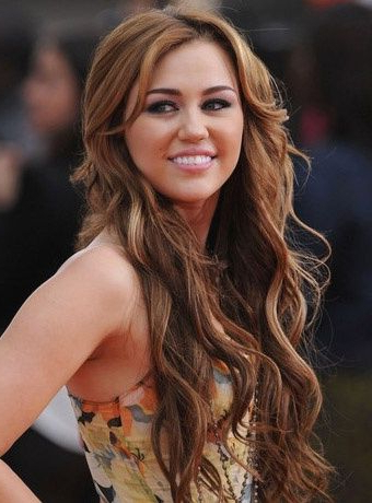 Top 10 Long Hairstyles For Brown Hair | Hair Ideas – Prom / Senior With Miley Cyrus Long Hairstyles (View 18 of 25)