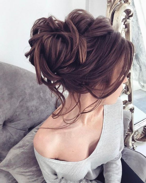Top 10 Messy Updo Hairstyles | Hair Styles | Prom Hair, Wedding Hair For Tousled Prom Updos For Long Hair (View 19 of 25)