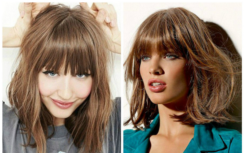 Top 10 Most Beautiful Hairstyles For Square Faces With Bangs 2019 In Long Hairstyles For Square Faces With Bangs (View 13 of 25)