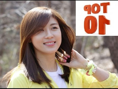 Top 10 Most Popular Korean Actresses In 2014 – Youtube Regarding Long Hairstyles Korean Actress (View 24 of 25)