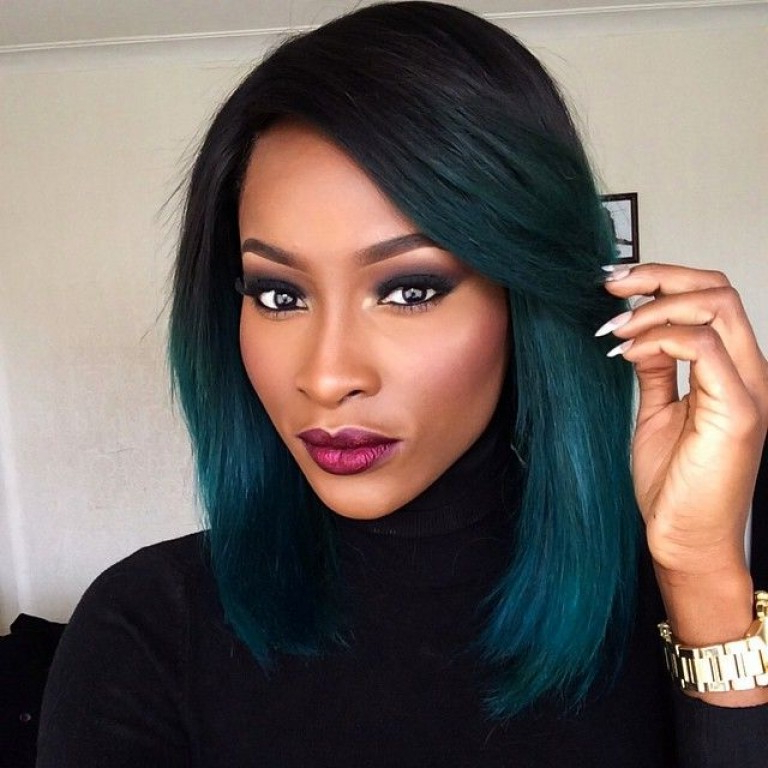 Top 10 Stylish Bob Hairstyles For Black Women In 2018 | Pouted Inside Long Hairstyles Black Women (View 21 of 25)