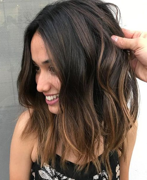 Top 11 Hottest Medium Length Styles Perfect For Thin Hair | Hair Within Long Hairstyles Brown Hair (View 14 of 25)