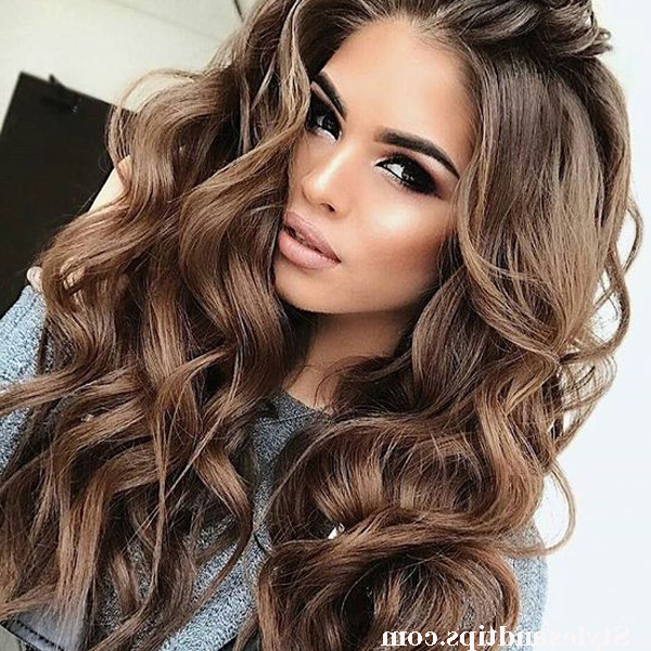Top 12 Swoop Hairstyles 2019 Female For Long Hair At Home Inside Long Hairstyles With Swoop Bangs (View 23 of 25)