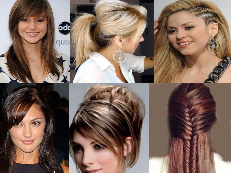 Top 15 Hairstyles For Long Straight Hair | Styles At Life Pertaining To Long Hairstyles For Straight Hair (View 9 of 25)