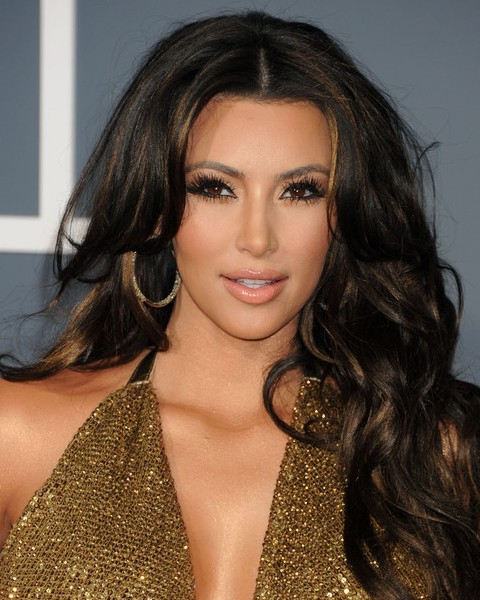 Top 15 Kim Kardashian Hairstyles – Kim Haircuts Pictures – Pretty Intended For Kim Kardashian Long Hairstyles (View 11 of 25)