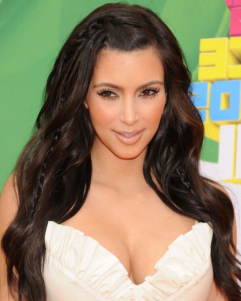 Top 15 Kim Kardashian Hairstyles – Kim Haircuts Pictures – Pretty Throughout Kim Kardashian Long Hairstyles (View 15 of 25)