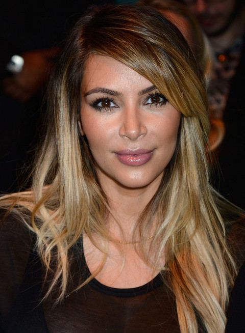 Top 15 Kim Kardashian Hairstyles – Kim Haircuts Pictures – Pretty With Regard To Long Layered Hairstyles Kim Kardashian (View 16 of 25)