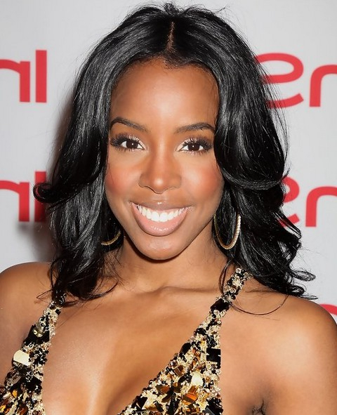 Top 19 Kelly Rowland Hairstyles – Pretty Designs In Sassy Long Haircuts (View 21 of 25)