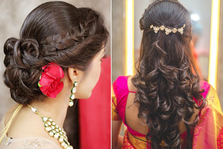 Top 19 Simple And Sleek Indian Hairstyles For Curly Hair Intended For Long Hairstyles Indian (View 13 of 25)