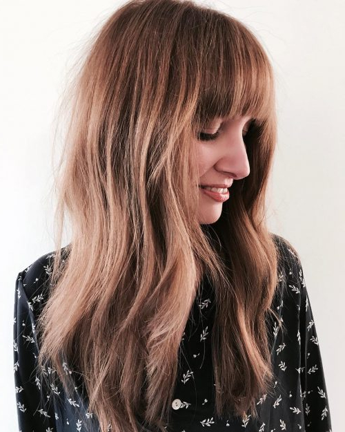 Top 22 Choppy Hairstyles You'll See In 2019 With Choppy Long Haircuts (View 12 of 25)
