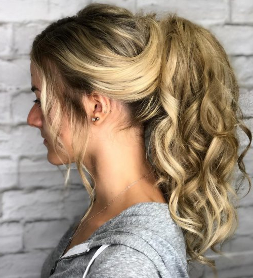 Top 23 Long Curly Hair Ideas Of 2019 Intended For Curled Long Hairstyles (View 15 of 25)