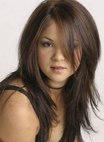 Top 25 Hairstyles For Fat Faces Of Women To Look Slim   Hairstyles In Haircuts For Chubby Face Long Hair (View 4 of 25)