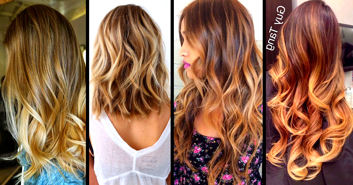 Top 30 Balayage Hairstyles To Give You A Completely New Look – Cute Regarding Long Hairstyles Balayage (View 11 of 25)