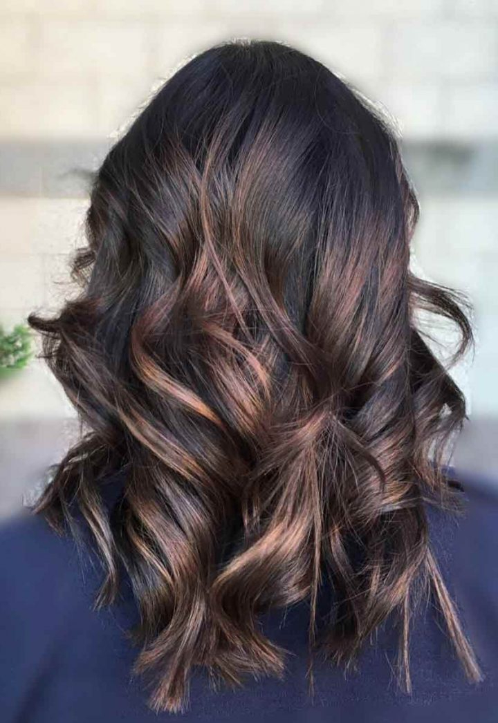Top 30 Chocolate Brown Hair Color Ideas & Styles For 2019 With Regard To Warm Toned Brown Hairstyles With Caramel Balayage (View 9 of 25)