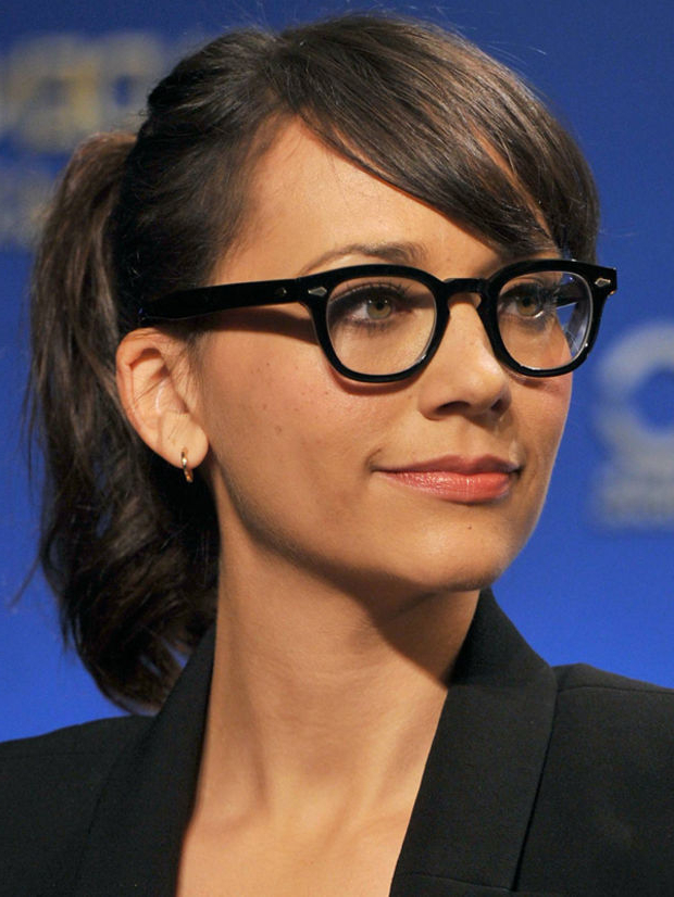 Top 30 Hairstyles With Bangs And Glasses, The Perfect Combination Regarding Long Hairstyles With Glasses (View 17 of 25)