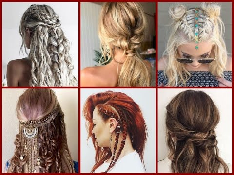 Top 30 Trendy Boho Hairstyles Ideas – Bohemian Hairstyles – Youtube Intended For Boho Long Hairstyles (View 13 of 25)