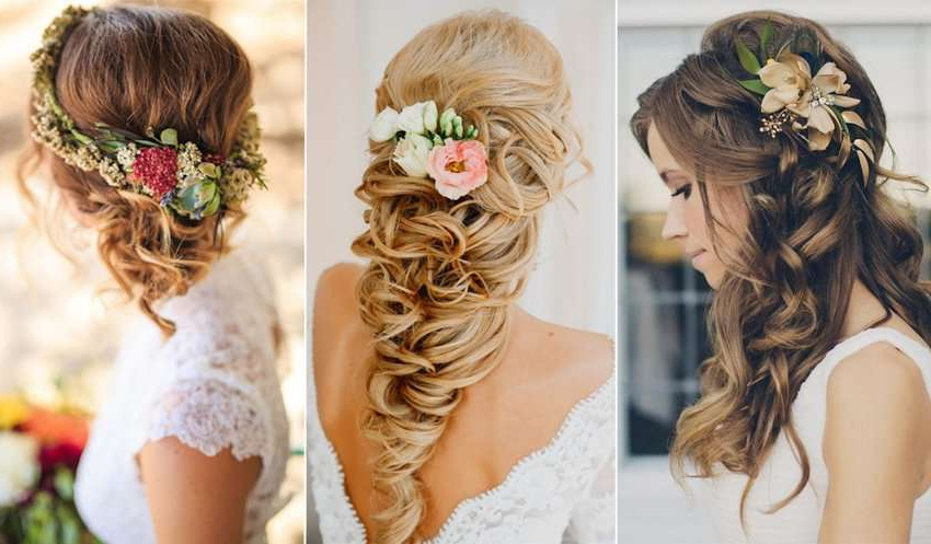 Top #41+ Indian Bridal Hairstyles For Long Hair And Short Hair Inside Elegant Long Hairstyles For Weddings (View 25 of 25)