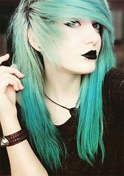 Top 50 Emo Hairstyles For Girls Within Long Emo Hairstyles (View 5 of 25)