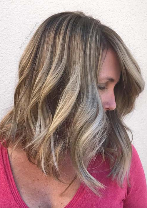 Top 51 Haircuts & Hairstyles For Women Over 50 – Glowsly Inside Choppy Chestnut Locks For Long Hairstyles (View 12 of 25)
