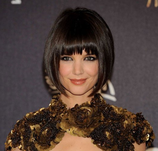 Top 9 Katie Holmes Hairstyles | Styles At Life Within Katie Holmes Long Hairstyles (View 25 of 25)