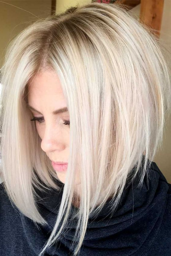 Top Bob Haircuts For Fine Hair To Give Your Hair Some Oomph! In Messy Layered Haircuts For Fine Hair (View 13 of 24)