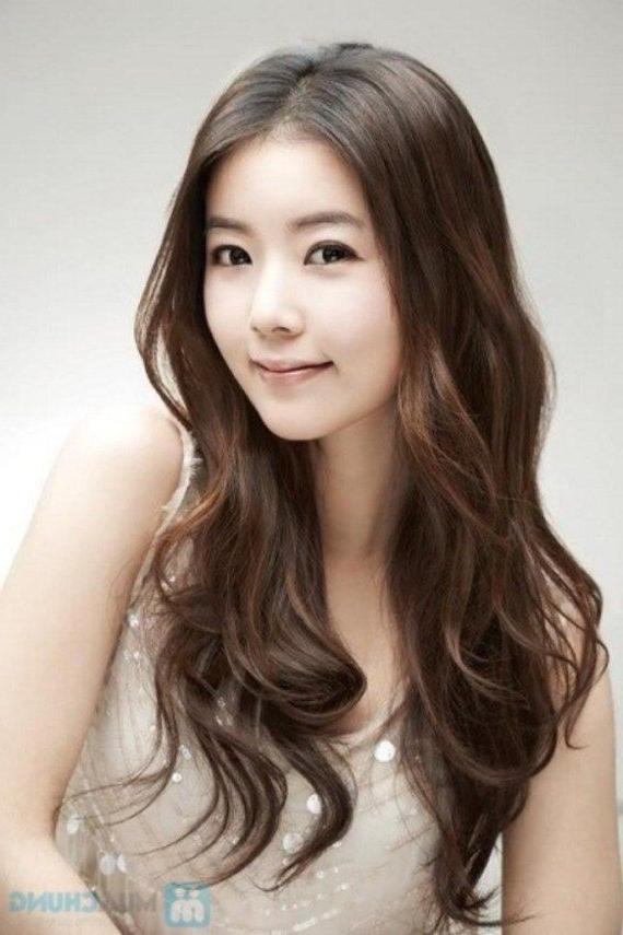 Top Korean Hairstyles Female 2018 | Asian Hairstyles | Long Hair Throughout Asian Long Hairstyles (View 10 of 25)