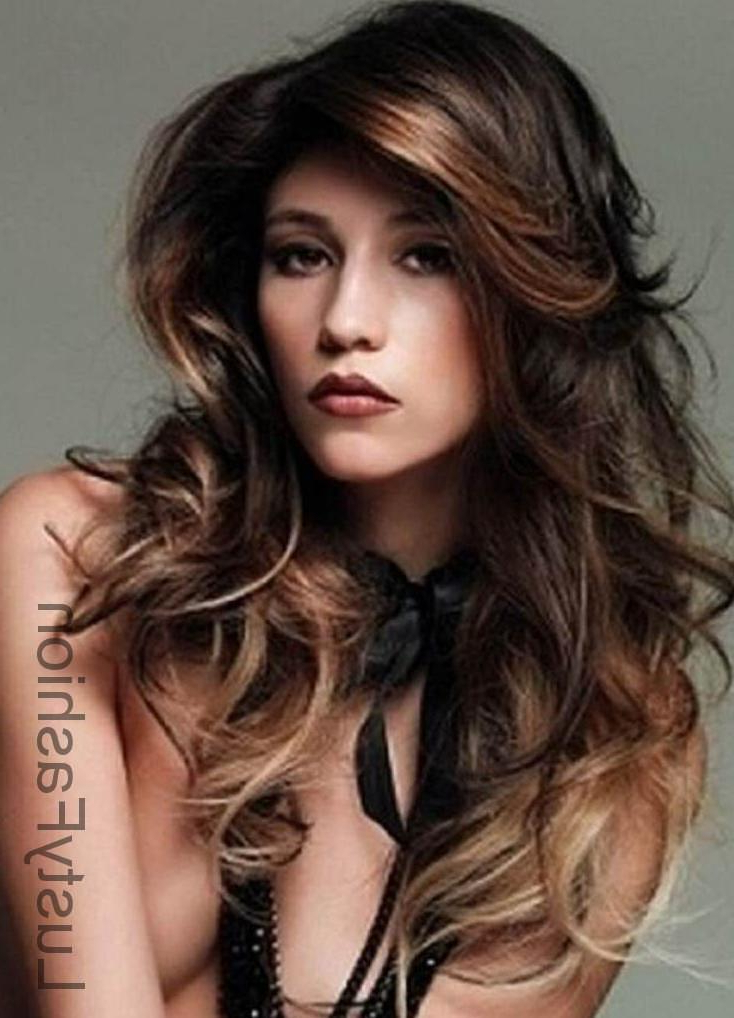 Top Long Hairstyles For Round Faces 2017 – Lustyfashion Pertaining To Long Hairstyles For Round Faces (View 11 of 25)
