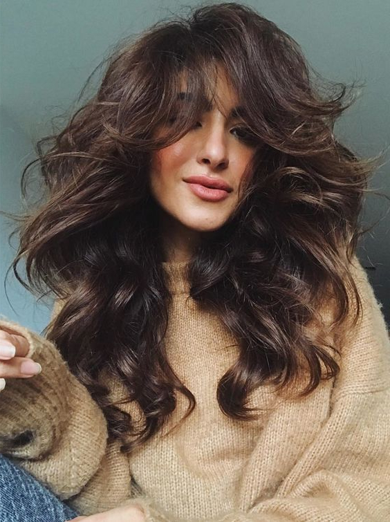 Top Trends Of Voluminous Long Layered Haircuts To Sport In 2017 2018 Intended For Long Voluminous Hairstyles (View 2 of 25)