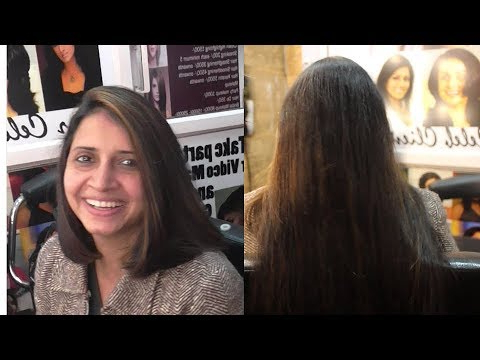 Transformation With Blunt Haircut ( Super Long To Short Haircut Regarding Blunt Long Haircuts (View 23 of 25)