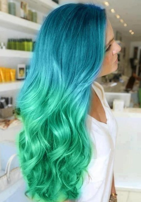 Trendy Hair Color: Ombre Long Hairstyles – Popular Haircuts Throughout Long Hairstyles And Colors (View 13 of 25)