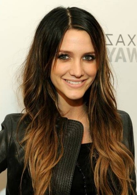 Trendy Highlights For Brunette Hair – Gorgeous Brunette Hairstyles For Long Hairstyles Brown With Highlights (View 19 of 25)
