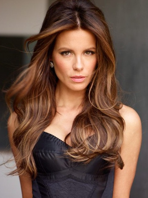 Trendy Highlights For Brunette Hair – Gorgeous Brunette Hairstyles In Long Hairstyles Brown With Highlights (View 4 of 25)