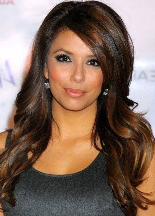 Trendy Highlights For Brunette Hair – Gorgeous Brunette Hairstyles With Long Hairstyles Brown With Highlights (View 16 of 25)