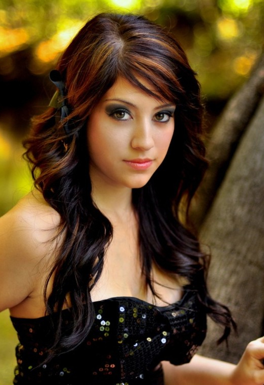 Trendy Highlights For Brunette Hair – Gorgeous Brunette Hairstyles With Regard To Long Hairstyles And Highlights (View 16 of 25)