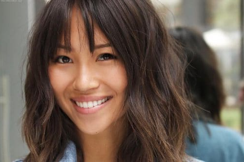 Trendy Ideas For Hairstyles With Bangs Pertaining To Long Length Hairstyles With Fringe (View 16 of 25)
