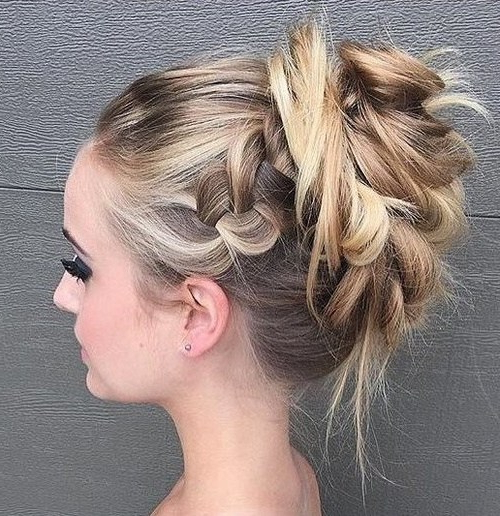Trubridal Wedding Blog | Prom Updos Archives – Trubridal Wedding Blog For Side Bun Twined Prom Hairstyles With A Braid (View 23 of 25)