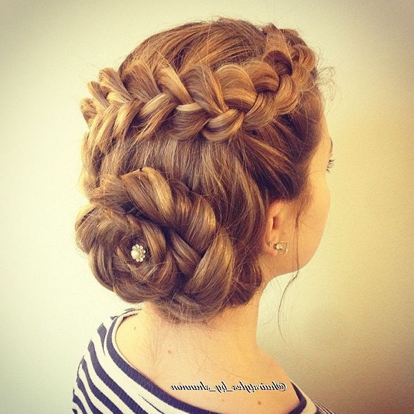 Trubridal Wedding Blog | Prom Updos Archives – Trubridal Wedding Blog Regarding Asymmetrical Knotted Prom Updos (View 17 of 25)