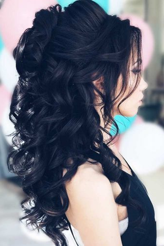 Try 42 Half Up Half Down Prom Hairstyles | Lovehairstyles In Long Hairstyles For Homecoming (View 19 of 25)