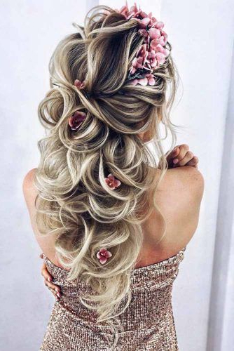 Try 42 Half Up Half Down Prom Hairstyles | Lovehairstyles Regarding Long Hairstyles Down For Prom (View 23 of 25)