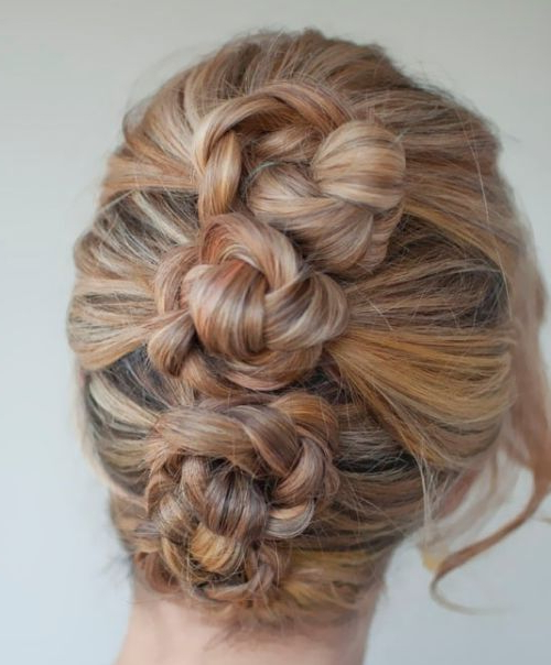 Twisted Braided Updo For Prom – Prom, Wedding, Formal – Careforhair Within Twisting Braided Prom Updos (View 2 of 25)