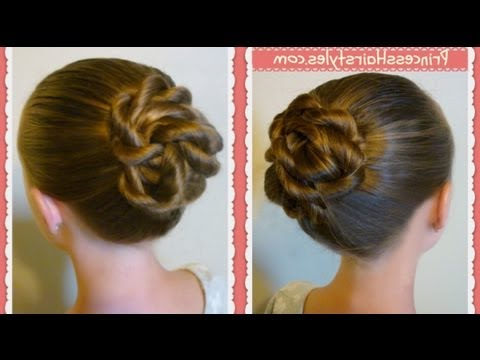 Twisted Knot Bun, Back To School Hairstyles For Long Hair, Medium Pertaining To Long Hairstyles Knot (View 2 of 25)