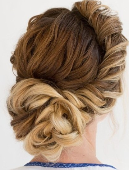 Twisted Side Bun Hairstyles For Prom – Askhairstyles Throughout Messy Twisted Chignon Prom Hairstyles (View 13 of 25)