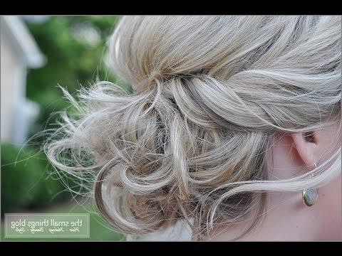 Twisted Updo – Youtube With Twisted And Curled Low Prom Updos (View 23 of 25)