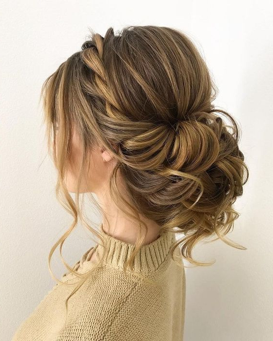 Twisted Wedding Updos For Medium Length Hair,wedding Updos,updo In Medium Long Updos Hairstyles (View 10 of 25)