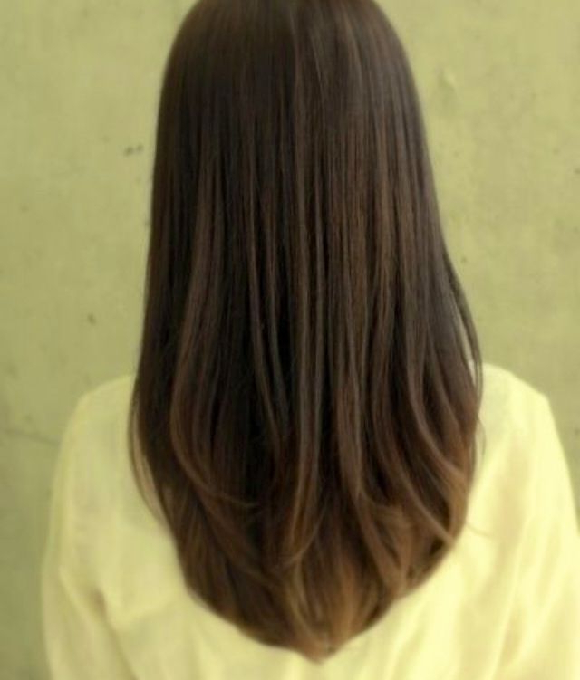 U Shape Haircut   H A I R   Long Straight Layered Hair, Straight With Long Hairstyles U Shaped (View 14 of 25)
