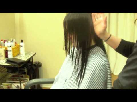 V Back, Long Layered Haircut, Face Framing (Hair Tutorial) – Youtube Within Long Hairstyles V In Back (View 20 of 25)