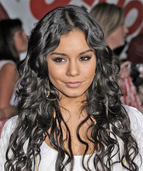 Vanessa Hudgens Casual Long Curly Hairstyle For Vanessa Hudgens Long Hairstyles (View 16 of 25)