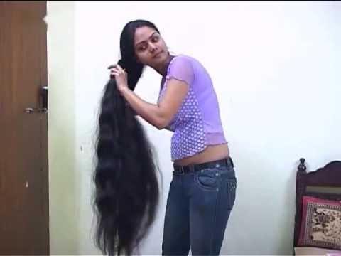 Very Long Hair Kerala Girl Combing And Braiding – Youtube Throughout Long Hairstyles In Kerala (View 9 of 25)