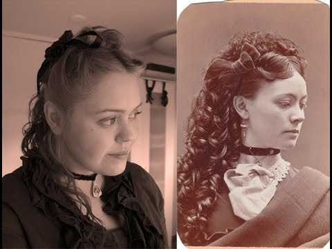 Victorian Hair Updo – Youtube For Long Victorian Hairstyles (View 21 of 25)