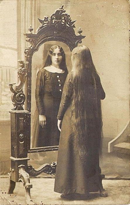 Victorian Long Hair – Mirror Image | Long Hair–Vintage | Vintage Within Long Victorian Hairstyles (View 3 of 25)